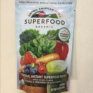 GROWN AMERICAN SUPERFOOD ORGANIC 31 Fruits & Veget